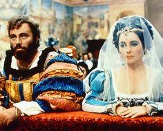 Richard Burton con Elizabeth Taylor