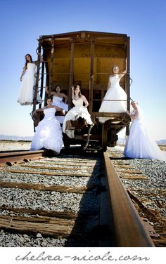Trash the Dress...love it...reminds me of Petticoat Junction for some reason.