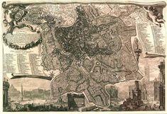 Nuova pianta di Roma data in luce da Giambattista Nolli l'anno MDCCXLVIII
