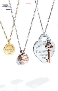 Pendants from the Return to Tiffany® collection will have her in a New York sta... - New Ideas