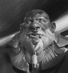 ArtStation - Daily Sketches Week 22, Even Amundsen