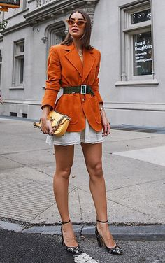 14 the best street style from fall 2019 fashion weeks 6 Look Street Style, New York Fashion Week Street Style, Fashion Blogger Style, Cool Street Fashion, Look Fashion, Autumn Fashion, Girl Fashion, Fashion Outfits, Fashion Bloggers