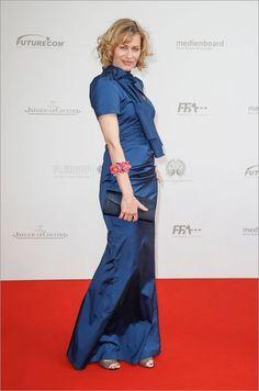 Gesine Cukrowski at German Film Awards.