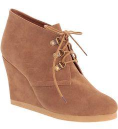 Des boots compensées Tally Weijl, tendance chaussures A/W 2012 2013