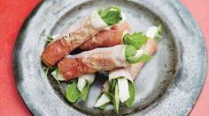 Mozzarella, Parma Ham and Rocket Rolls