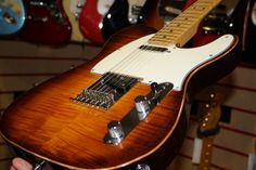 Fender Select Telecaster with Flame Maple Top