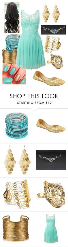 """Disney - Princess Jasmine"" by briony-jae ❤ liked on Polyvore featuring Amrita Singh, Kenzo, Kardashian Kollection and Lipsy"