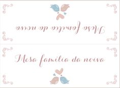 Arte para convite de casamento Love Birds ♥ Apenas R$55,00. Acompanha individual…