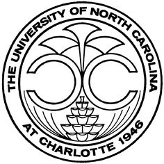 Proud to be a graduate from The University of North Carolina at Charlotte