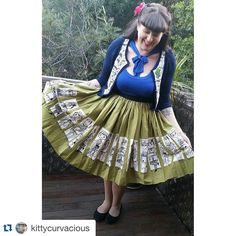 """...As well as the Commuter Jenny Skirt  you can never go wrong with a Pinup Couture Jenny Skirt ladies! One of my all time favourite skirts! #Repost…"""