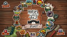 Monster Loves You!   So Many Game Reviews!