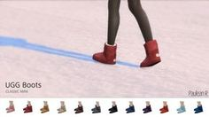 UGG Boots Classic Mini at Paulean R via Sims 4 Updates