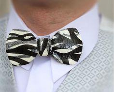 Motýlik čierno biely by MaZulu - SAShE.sk - Handmade Doplnky