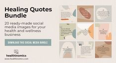 ❤️ SOCIAL MEDIA CONTENT ❤️ 🗯️🍏 Healing Quotes Bundle 🗯️🍏- To help your social media followers recover from lifes struggles, we've put together this bundle of beautifully inspiring, comforting, and uplifting healing quotes. Share this bundle of healing quotes to help others recover from life's challenges. They will give your followers who may be going through tough times the strength they need to get through any struggle. #HealingQuotes #Quotes #MoticationalQuotes Social Media Images, Social Media Content, Healing Quotes, Self Healing, Tough Times, Helping Others, Forgiveness, Followers, Health And Wellness