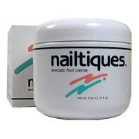Nailtiques Avocado Foot Creme 4 oz. Manicure Women by Nailtiques. Save 43 Off!. $8.59. Highest Quality Nail Care available. Bursting with fruity goodness, this foot cream is a luxurious treat for the feet that moisturises and conditions tired tootsies, leaving them looking and smelling gorgeous. Rich in avocado oil, it is deeply penetrating, carrying other active moisturisers into the deeper layers of the skin. This non-greasy moisturising creme is specifically formulated for...
