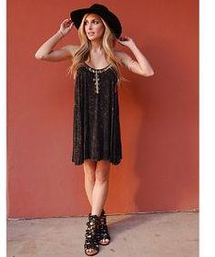 West Coast WardrobeWest Coast Wardrobe Wild Love Dress in Black