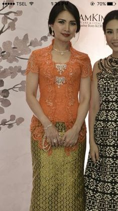 Baju kebaya pesta Kebaya Lace, Kebaya Brokat, Batik Kebaya, Kebaya Dress, Dress Pesta, Batik Dress, Vera Kebaya, Model Kebaya Modern, Kebaya Modern Dress