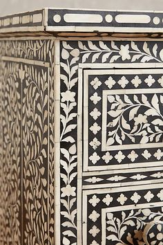 Bone Inlay Seven-Drawer Dresser - anthropologie.com