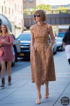 """""""Anna Wintour (Anna Wintour),"""" a zużywające poznać modę na całym świecie Co ty mi sobie -Style Haus? (Styl House)"""