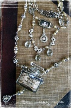 Sally Jean Perfume Bottle necklace