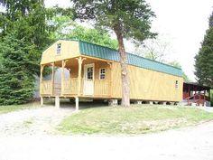 Conley's Barns 14'x30' With 8' Porch