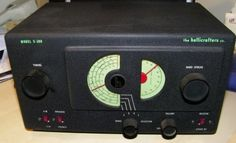 Vintage-Hallicrafters-Co-Model-S-38B-Shortwave-Ham-AM-Tube-Radio-Receiver-EC