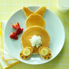 Bunny Pancakes & 13 More Bunny-Shaped Recipes from Taste of Home