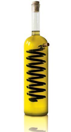 olive oil and vinegar bottles on pinterest vinegar. Black Bedroom Furniture Sets. Home Design Ideas