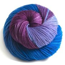 BLUE FAIRY 3-PLY SUPERWASH MERINO WOOL SOCK