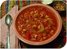 Are you a fan of Olive Garden's famous veggie soup? Try making this slowcooker version at home
