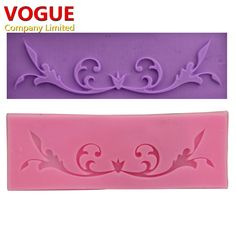 Hot! DIY Flower Vine Lace Cake Chocolate Silicone Moulds Pastry Tools Jello Sugar Fondant Silicone Candy Cake Molds  N1942