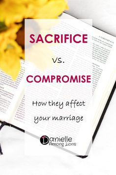 Sacrifice vs Compromise - How they affect your marriage Christian Women Blogs, Christian Post, Christian Wife, Christian Marriage, Christian Faith, Christian Living, Bible Encouragement, Christian Encouragement, Successful Marriage