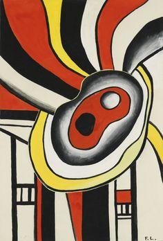 'Projet pour une peinture murale' (1952) by Fernand Léger