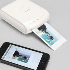 Print photos instantly from your mobile phone or tablet! The Smartphone Photo Printer is the perfect gift for the Instagram Lover in your life. Creative DIY kits, DIY gift ideas, creative gift ideas, unique gifts, handmade gift ideas, make it yourself, do it yourself.