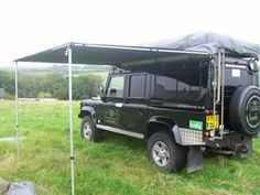 Awnings for Land Rover, 4x4, Camper Van, Camping