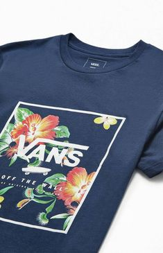 Showcase your favorite brand on top in the Vans Print Box T-Shirt. This new go-to tee has a crew neck and the brand's reimagined logo printed on the front. Boxing T Shirts, Print Box, Pacsun, Graphic Tees, Glow, Crew Neck, Short Sleeves, Vans, Graphics