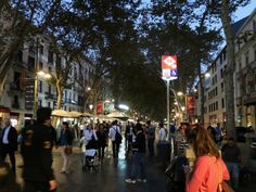 La Rambla is a unique aspect of the city and worth making that requisite stroll. Follow this link to see more:  http://mikestravelguide.com/things-to-do-in-barcelona-stroll-down-la-rambla/