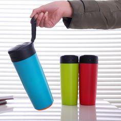 Nouveau ! Bouteille Thermos Mighty Mug Anti Fuite et Inrenversable