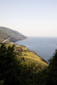 Nova Scotia Cabot Trail Cape Breton... Canada