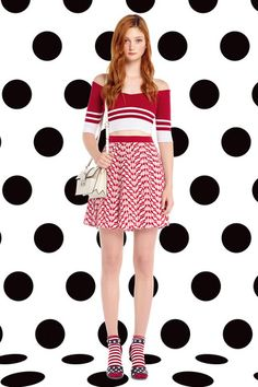 Red Valentino Spring 2015 Ready-to-Wear Collection Slideshow on Style.com