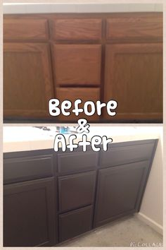 My Cabinets Espresso Behr Paint Color Pinterest Behr