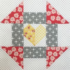 Churn Dash Love Block ...This is a mashup between two of my blocks from Farm…