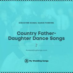 What is your favorite Country song for the father-daughter dance? It is a special moment for any bride and her dad. ⠀ . You can read our list of the top Country father-daughter dance songs on our website. .  #fatherdaughter #daddydaughter Country Father Daughter Songs, Daddy Daughter, Top Country, Modern Country, Songs About Dads, Wedding Reception, Wedding Day, Song List, Country Songs