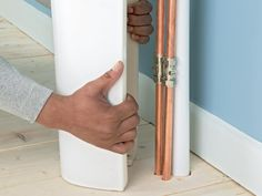 Pedestal Sink Pipe Cover : ... on Pinterest Electrical wiring, Plumbing and The family handyman