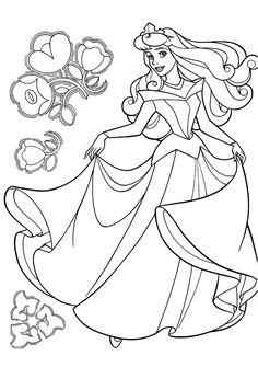 dibujos para colorear e imprimir de princesas | Colorear princesas | Videos Infantiles - Canciones Infantiles ...