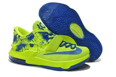 WMNS KD 7 GS VII Volt Electric Green Royal Blue c1d2a3275