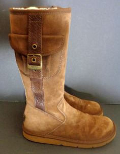 dubarry galway tex lined green leather boots s sz 8