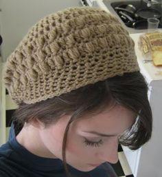 Pretty Puff Slouchy Hat UPDATE: Pattern link added - CROCHET