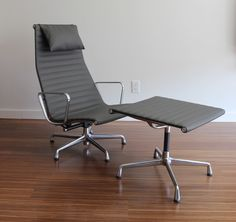 EAMES ALUMINUM GROUP CHAIR - HERMAN MILLER - http://www.hermanmiller.com/products/seating/lounge-seating/eames-aluminum-group-chairs.html