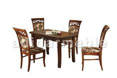 HOLLY Stół + 4 krzesła, galeria zdjęć